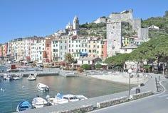 Portovenere, włoch Riviera, Liguria, Włochy Zdjęcie Stock