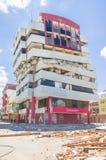 Portoviejo, Ισημερινού - 18 Απριλίου, 2016: Οικοδόμηση παρουσιάζοντας τη συνέπεια 7 σεισμός 8 στοκ φωτογραφίες με δικαίωμα ελεύθερης χρήσης