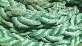 Portowa arkana cumownicza liny Arkana dla przymocowywać statki i ładunek Obraz Stock