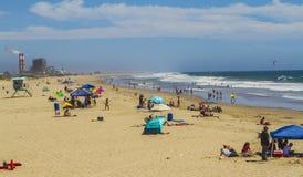 Portowa Hueneme plaża Zdjęcie Stock