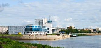 portowa rzeka Zdjęcia Stock