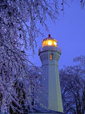 Portowa Sanilac latarnia morska Fotografia Stock