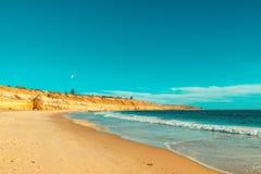 Portowa Willunga plaża, Adelaide Obrazy Royalty Free