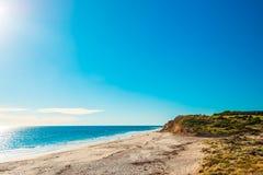 Portowa Willunga plaża na dniu, Adelaide Obraz Stock