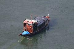 Portowego wina Turystyczna łódź Obraz Royalty Free