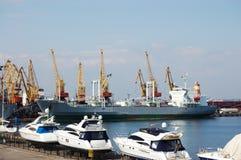 portowi żołnierz piechoty morskiej jachty Zdjęcia Stock