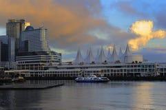 portowy śmiertelnie Vancouver zdjęcia royalty free