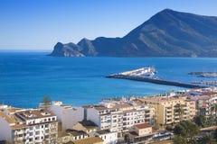 portowy Altea puerto de Zdjęcie Royalty Free