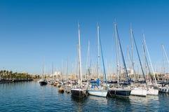 portowy Barcelona vell Zdjęcie Stock