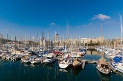 portowy Barcelona vell Zdjęcie Royalty Free
