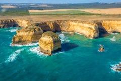 Portowy Campbell park narodowy Wiktoria Australia Fotografia Royalty Free