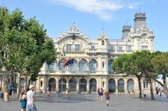 Portowy De Barcelona Obrazy Stock