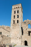 PORTOWY DE LOS ANGELES SELVA - monaster SANT PERE DE RODES (ESPAÃ ` A) Zdjęcie Royalty Free