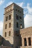 PORTOWY DE LOS ANGELES SELVA - monaster SANT PERE DE RODES (ESPAÃ ` A) Zdjęcie Stock