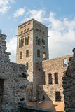 PORTOWY DE LOS ANGELES SELVA - monaster SANT PERE DE RODES (ESPAÃ ` A) Zdjęcia Stock