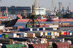portowy denny handel zdjęcia stock