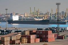 portowy denny handel obrazy royalty free