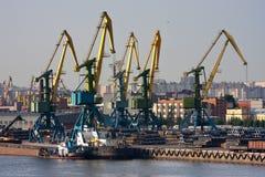portowy denny handel obraz stock