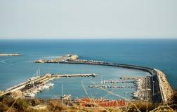 portowy denny Sicily Zdjęcia Royalty Free