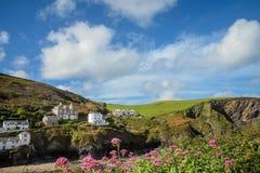 Portowy Isaac połowu schronienie w Północnym Cornwall, Anglia Obraz Royalty Free