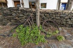 Portowy Lligat, mała Śródziemnomorska wioska zdjęcia stock