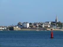 Portowy Louis, Brittany, Francja Zdjęcia Royalty Free