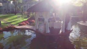 PORTOWY LOUIS MAURITIUS, GRUDZIEŃ, - 04, 2015: Belle luksusu klasy hotelu Kobylia powierzchowność zbiory