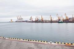 portowy miasta seashore Fotografia Stock
