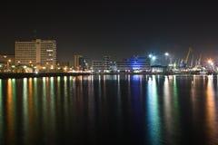 portowy morze Zdjęcia Royalty Free