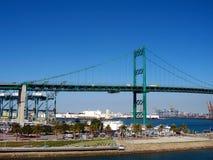Portowy most Zdjęcie Royalty Free