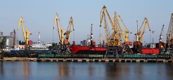 Portowy Odesa Obrazy Royalty Free