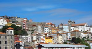 portowy Oporto widok Zdjęcia Stock