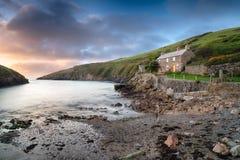 Portowy Quin w Cornwall Obraz Stock