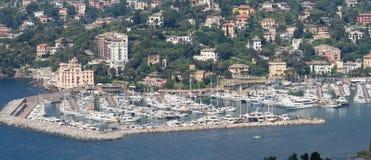 portowy rapallo obrazy royalty free