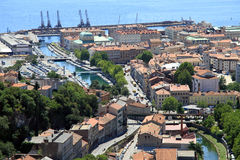 Portowy Rijeka zdjęcie royalty free