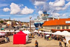 portowy Stavanger Fotografia Stock