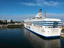 portowy Stockholm Zdjęcia Royalty Free