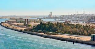 Portowy Tawfik, Egipt zdjęcia royalty free