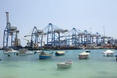 portowy transport Obraz Royalty Free