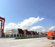 portowy yantian Obrazy Stock