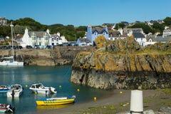 Portpatrick-Hafen, Dumfries und Galloway, Schottland lizenzfreie stockfotografie