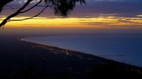 Portphillip-Sonnenuntergang Stockbilder