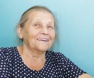 Porträt der älteren Frau. Lizenzfreie Stockfotos