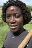 Porträt der Afrikanerin Stockbild