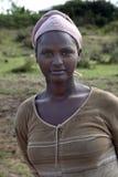 Porträt der Afrikanerin Stockfoto