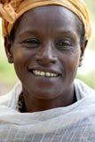 Porträt der Afrikanerin Lizenzfreie Stockfotos