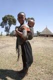 Porträt der afrikanischen Jungen Lizenzfreie Stockfotos