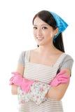 Porträt der asiatischen Hausfrau Lizenzfreie Stockfotografie
