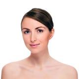 Porträt der attraktiven jungen Frau Lizenzfreie Stockfotos