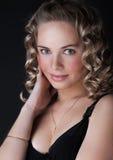 Porträt der Blondine Lizenzfreies Stockfoto